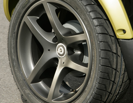 Smart Fortwo Cabrio - Triline Alloys 16