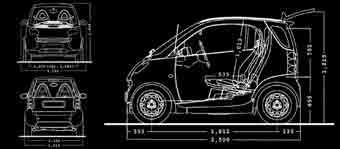 Smart Fortwo Dimensions